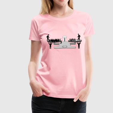 Scalable Education? - Women's Premium T-Shirt