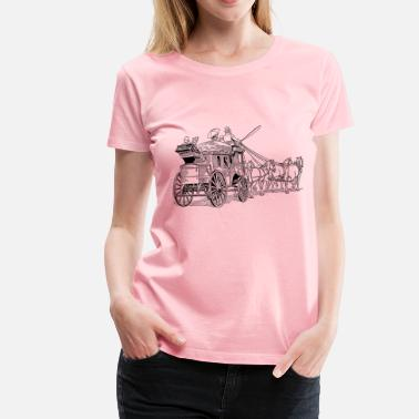 Stagecoach diligence - Women's Premium T-Shirt