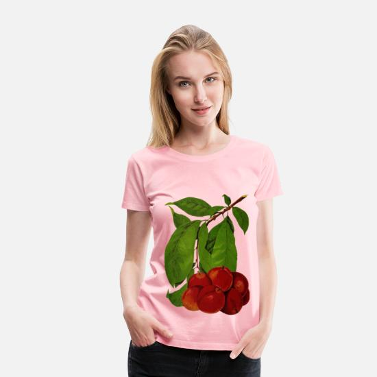 Arm T-Shirts - Plums 2 - Women's Premium T-Shirt pink