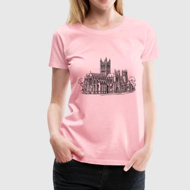 Gothic church - Women's Premium T-Shirt