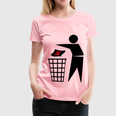 Get rid of the trash - Women's Premium T-Shirt