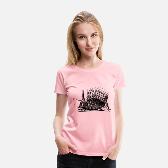 Conflict T-Shirts - Galloping into battle - Women's Premium T-Shirt pink