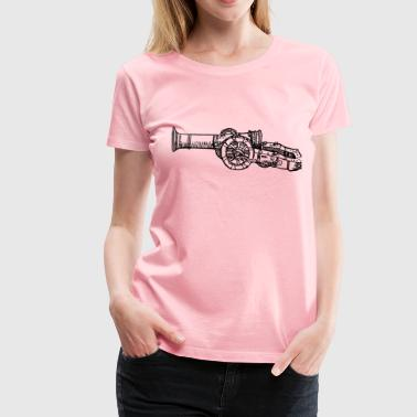 Cannon - Women's Premium T-Shirt