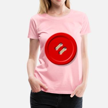 Enlightened Clothing button coloured - Women's Premium T-Shirt