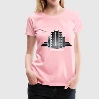 City Hall - Women's Premium T-Shirt