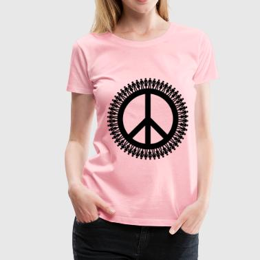 People For Peace Mark III - Women's Premium T-Shirt