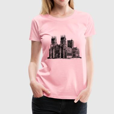 York cathedral - Women's Premium T-Shirt