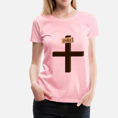 Jesus Died On The Cross Jesus on the Cross - Women's Premium T-Shirt