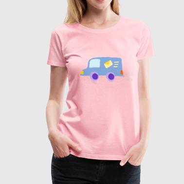 Front Post Crooked Post Van 1 - Women's Premium T-Shirt