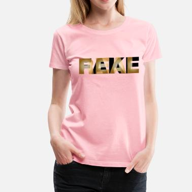 Counterfeit Really Fake - Women's Premium T-Shirt