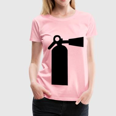 fire extinguisher - Women's Premium T-Shirt