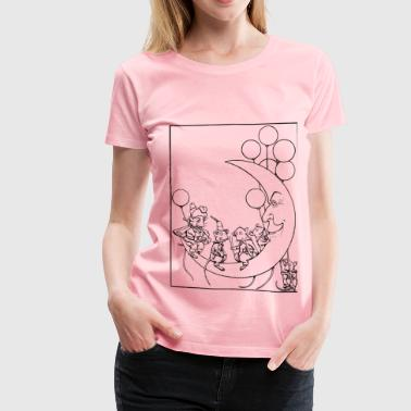 Creepy Moon Mice - Women's Premium T-Shirt