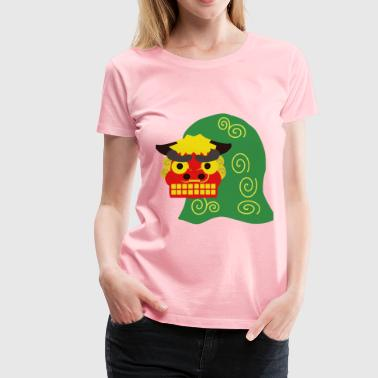 Shishi Lion Dance - Women's Premium T-Shirt