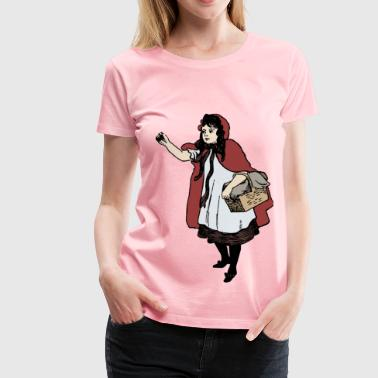 Little Red Riding Hood - Women's Premium T-Shirt
