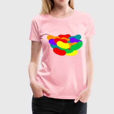 Jelly Beans Pile of Jelly Beans - Women's Premium T-Shirt