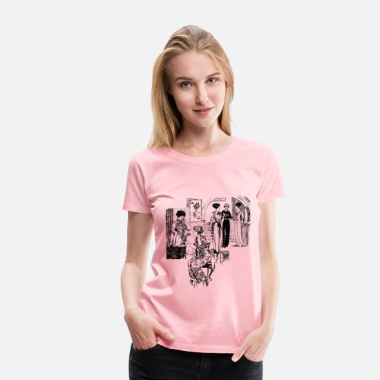 Assembly T-Shirts - Gathering of Ladies - Women's Premium T-Shirt pink
