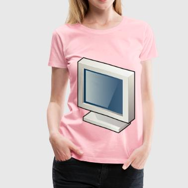 Màn Hình LCD (Screen LCD) - Women's Premium T-Shirt