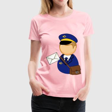 Unemployment Postman - Women's Premium T-Shirt
