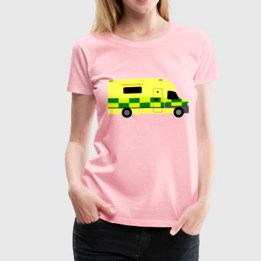 British Car British Ambulance - Women's Premium T-Shirt