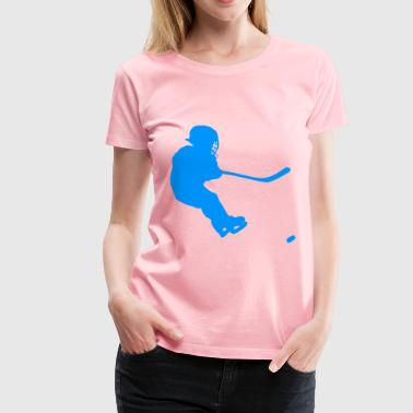 Silhouette Hockey 04 - Women's Premium T-Shirt