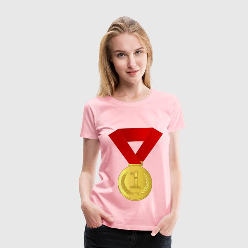 Gold medal / award - Women's Premium T-Shirt