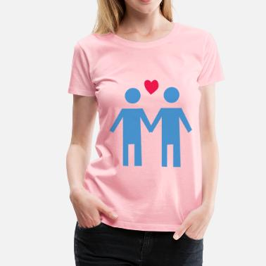 Gay Couple Gay Couple - Women's Premium T-Shirt