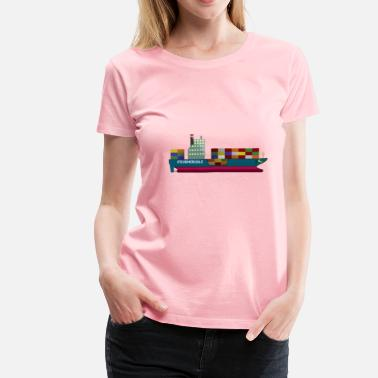 Container Ship Container Ship   - Women's Premium T-Shirt
