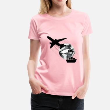 Shipping And Logistics Logistic - Women's Premium T-Shirt