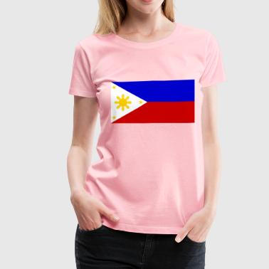 The Philippine Flag - Women's Premium T-Shirt