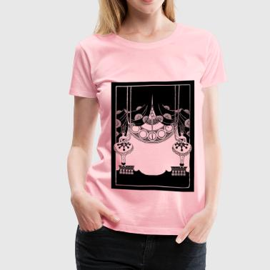 Ladies and Stage Curtain - Women's Premium T-Shirt