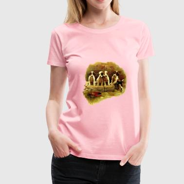 Cute dogs - Women's Premium T-Shirt