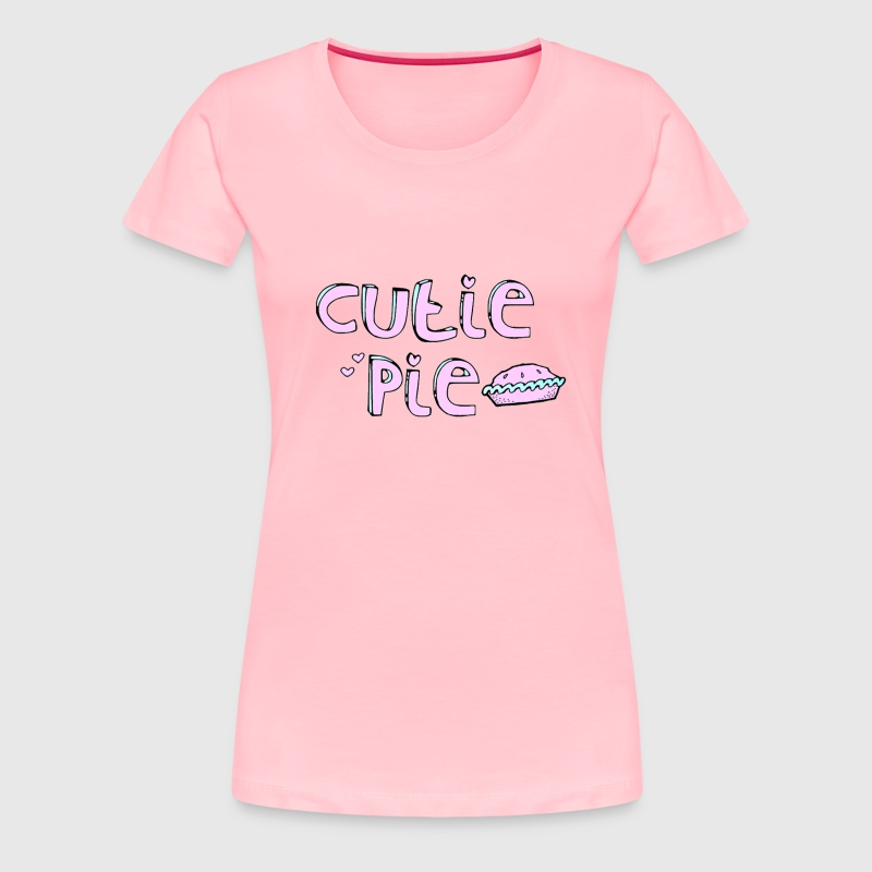 Woman's Cutie Pie T-Shirt - Women's Premium T-Shirt