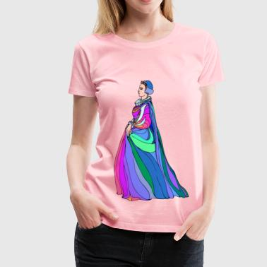 Gentlewoman Shakespeare characters Olivia (colour) - Women's Premium T-Shirt