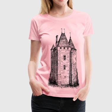 Tower Architecture Tower - Women's Premium T-Shirt