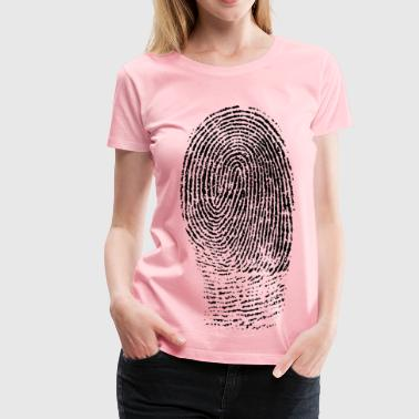 Fingerprint Jokes Fingerprint - Women's Premium T-Shirt