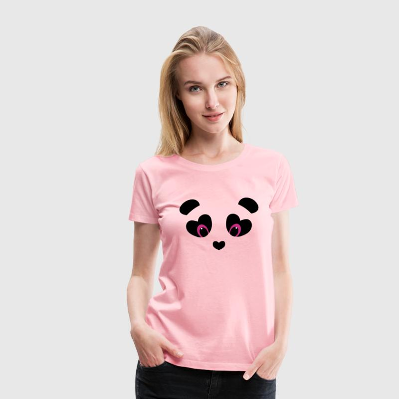 panda transparent - Women's Premium T-Shirt