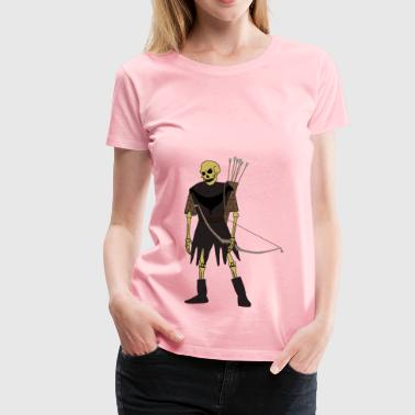 Undead Archer - Women's Premium T-Shirt