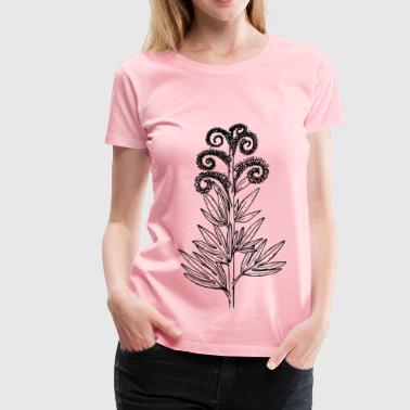 Tall phacelia - Women's Premium T-Shirt