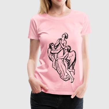 Borne by angels - Women's Premium T-Shirt