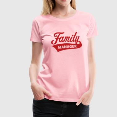 Mothers Day Family Manager - Women's Premium T-Shirt
