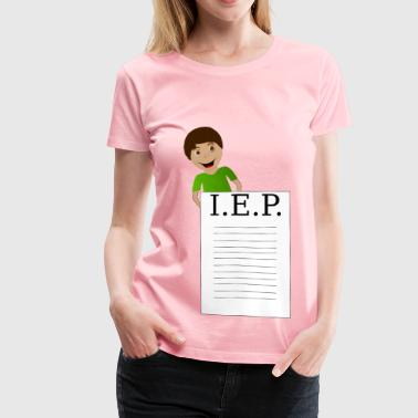 Boy Behind IEP - Women's Premium T-Shirt