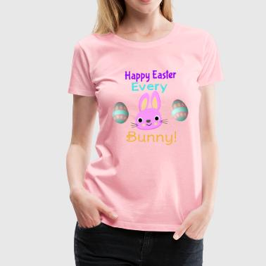 Easter Bunny Design - Women's Premium T-Shirt