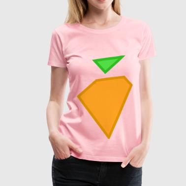 carrot - Women's Premium T-Shirt