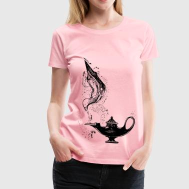 Genie Lamp - Women's Premium T-Shirt