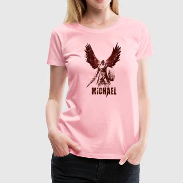 Archangel Michael - Women's Premium T-Shirt