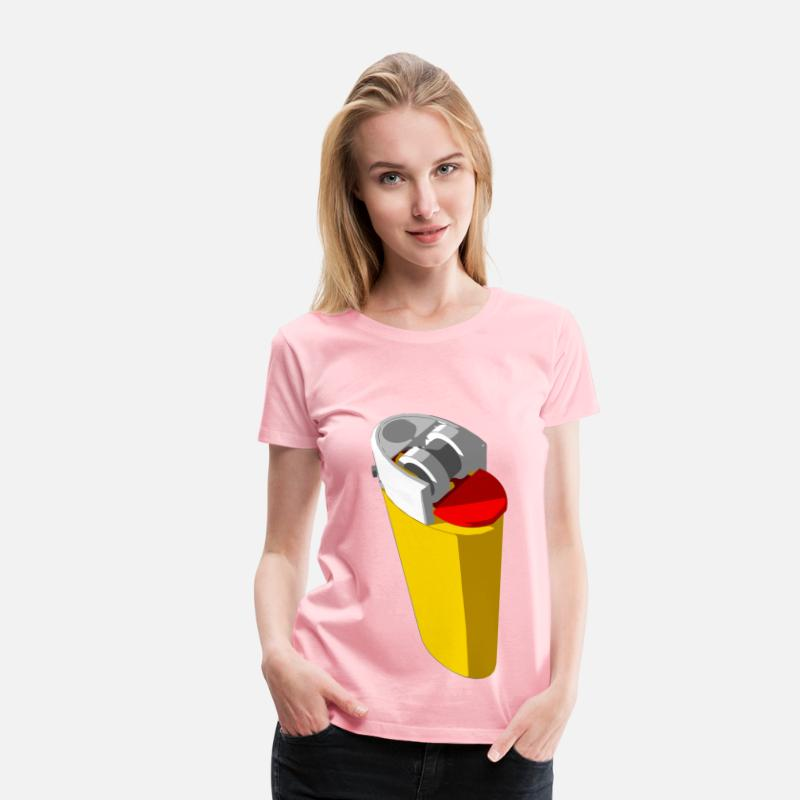 Bright T-Shirts - Yellow lighter - Women's Premium T-Shirt pink