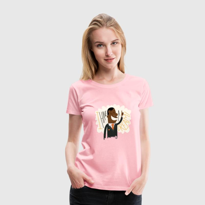 Martin Luther King - I have a Dream - Women's Premium T-Shirt
