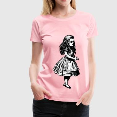 Alice (in wonderland) - Women's Premium T-Shirt