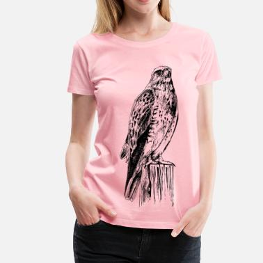 Prey Bird of prey - Women's Premium T-Shirt