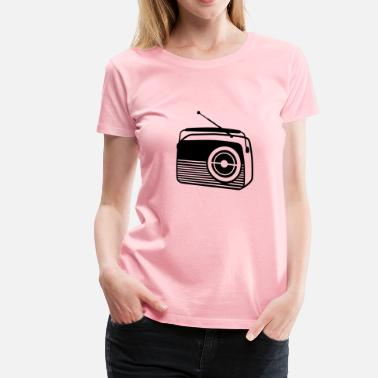 Radio Station Radio - Women's Premium T-Shirt